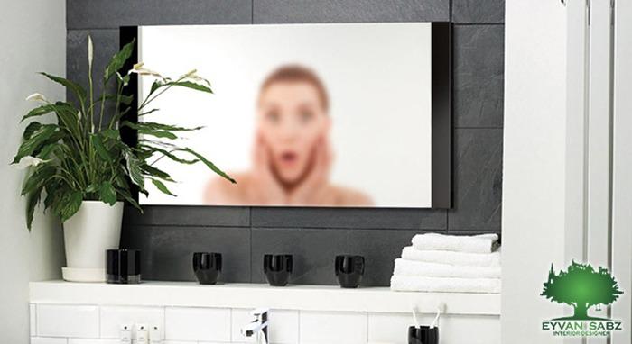 بخار آینه حمام