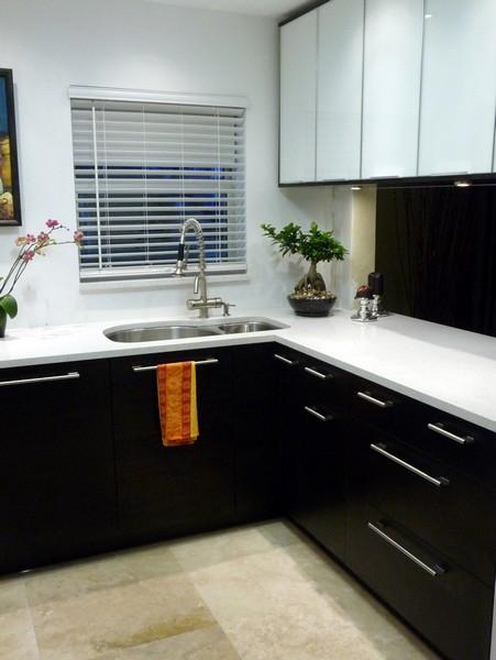 مدلهای کابینت در آشپزخانه کوچک