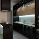 کابینت در آشپزخانه کوچک