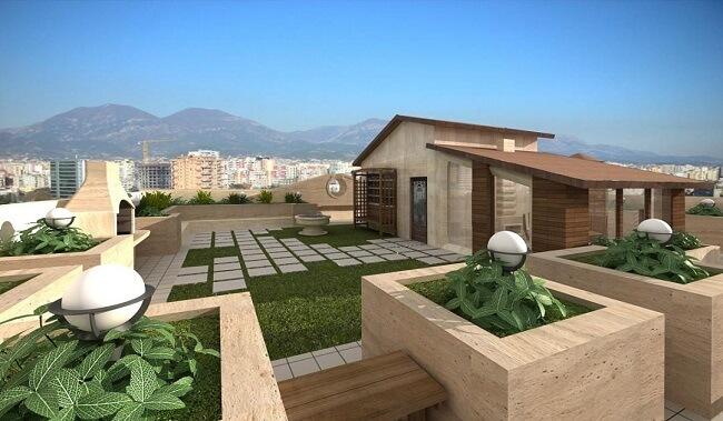 طراحی و پیاده سازی بام سبز و روف گاردن