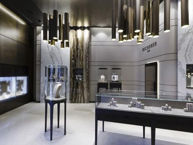 طراحی داخلی فروشگاه و مغازه تجاری