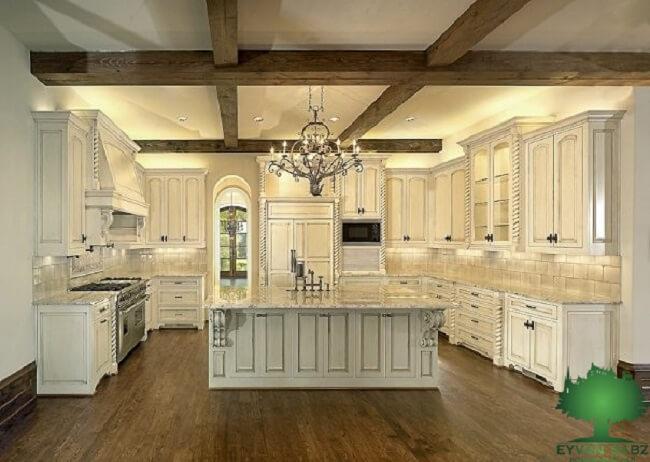 ترکیب رنگ در کوراسیون آشپزخانه