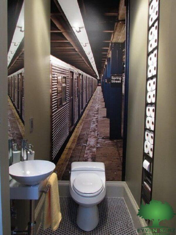 سرویس بهداشتی و حمام کوچک لوکس و شیک