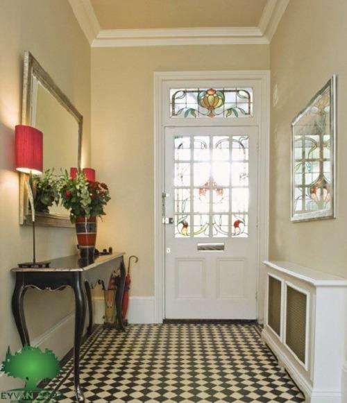 طراحی فضای ورودی آپارتمان