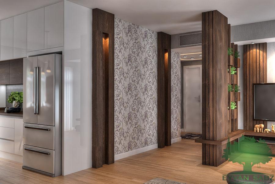 پروژه طراحی آپارتمان - قلهک