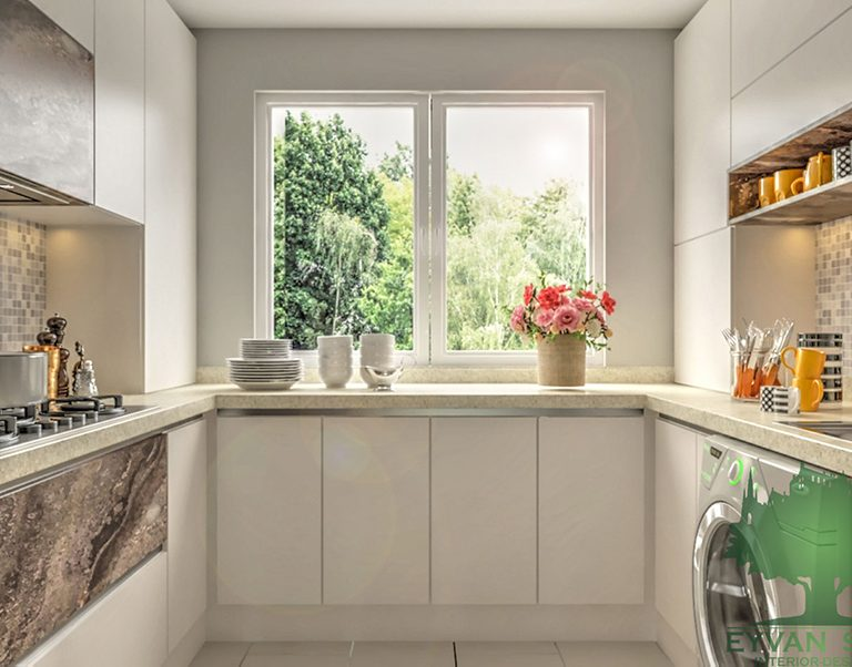 طراحی کابینت آشپزخانه - شهرک اکباتان