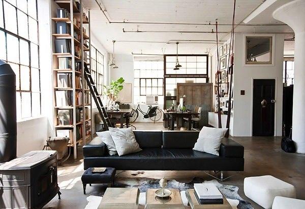 مبلمان و صندلیها ها در سبک industrial
