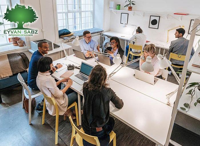 مشاوره طراحی داخلی دفتر کار