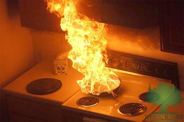 سیستم هشدار در آشپزخانه