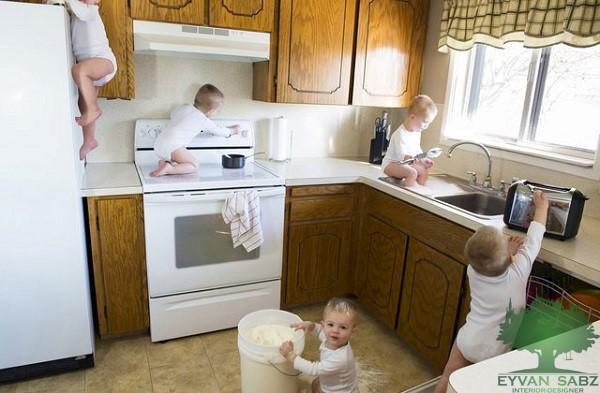 امنیت در آشپزخانه هوشمند